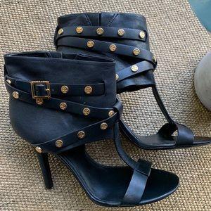 [Tory Burch]• cuffed ankle t strap heels